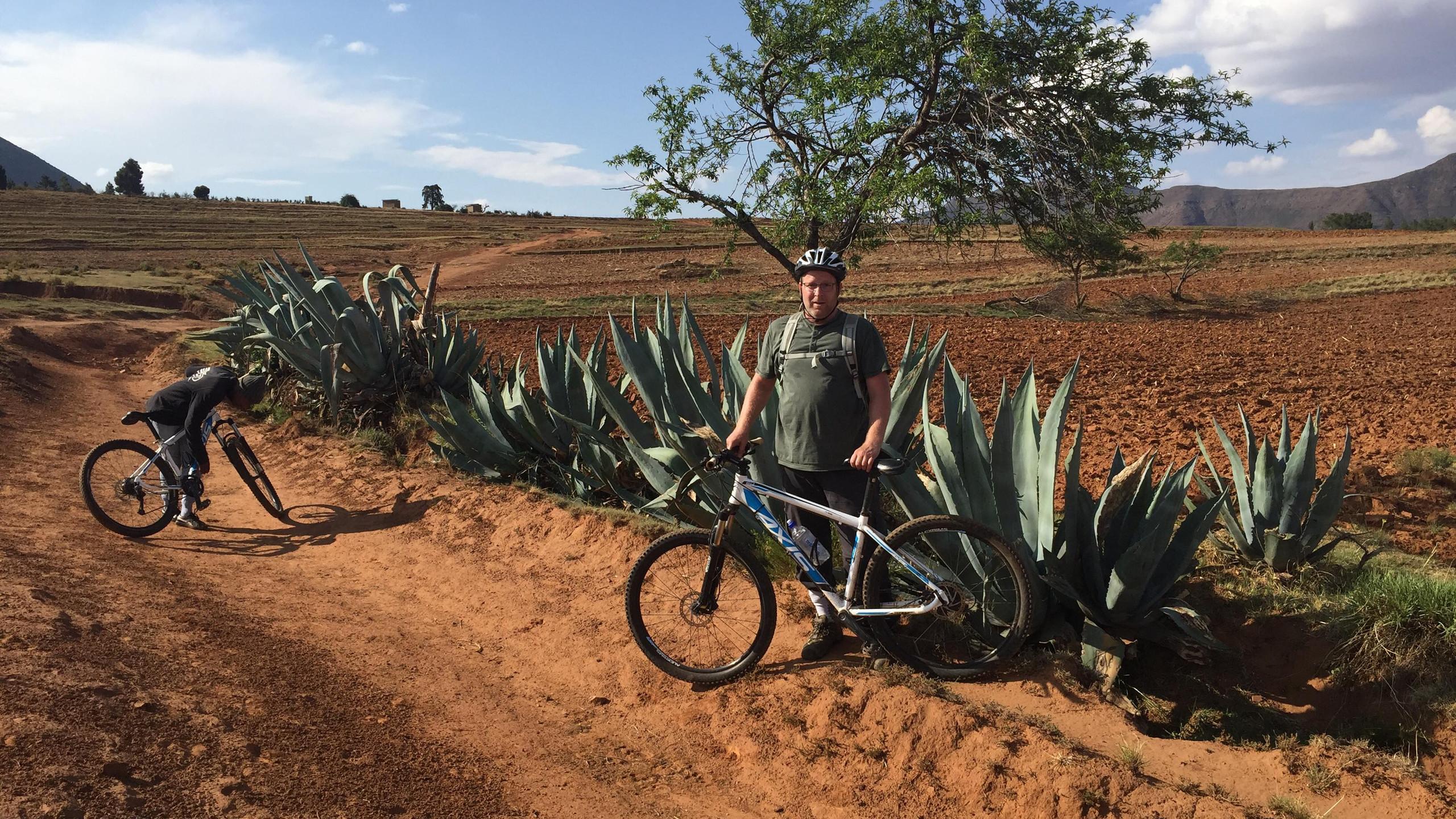 Biking in Lesetho, Africa
