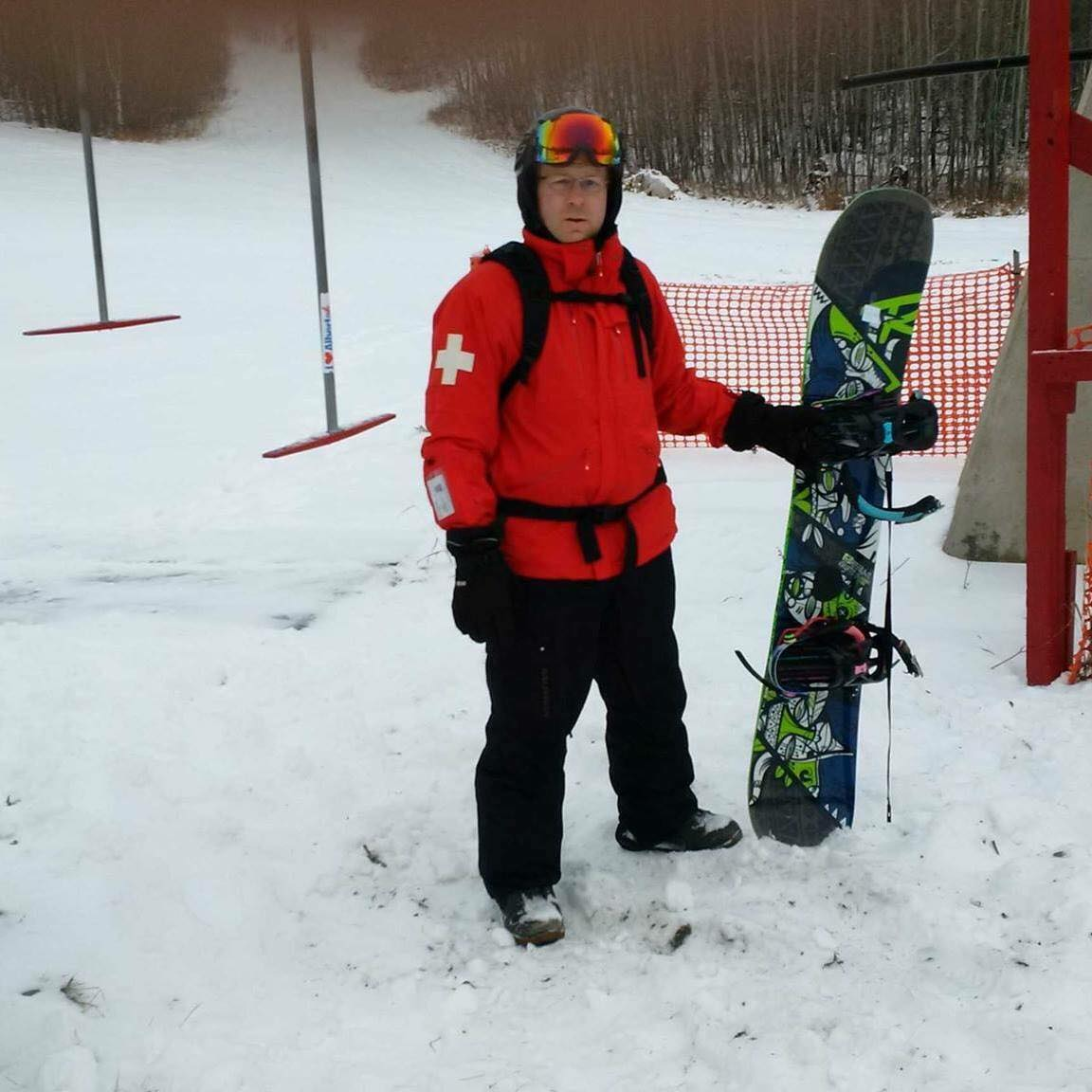 Volunteering with the ski patrol