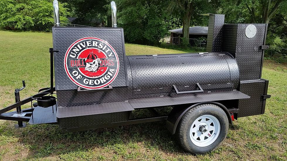 Smoker Bbq Grill Pit Trailer Rentals Smoker Bbq Rental