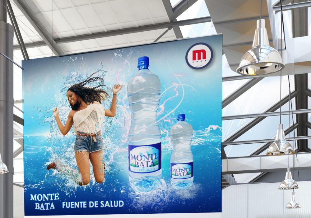 Campagne publicitaire Monte Bata