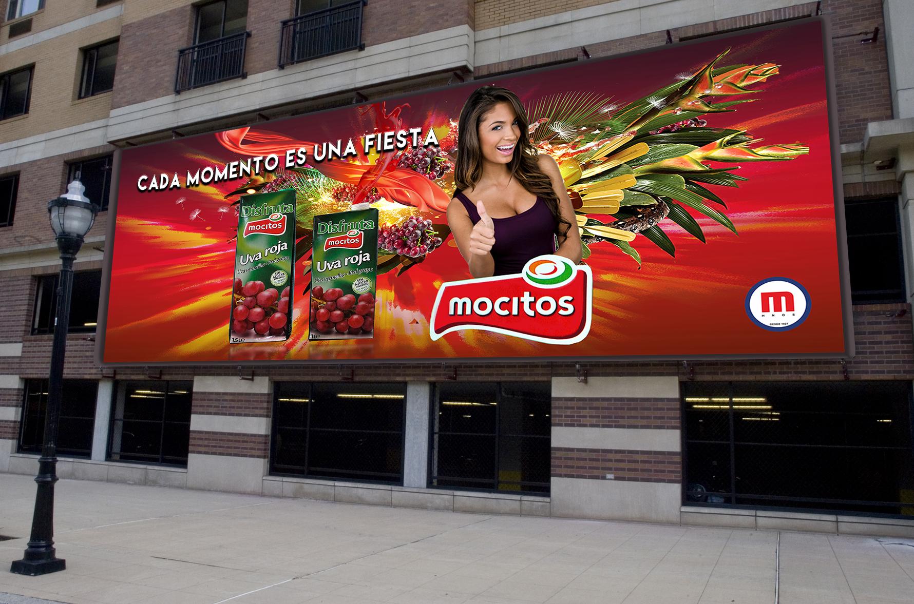 Campagne publicitaire Mocitos