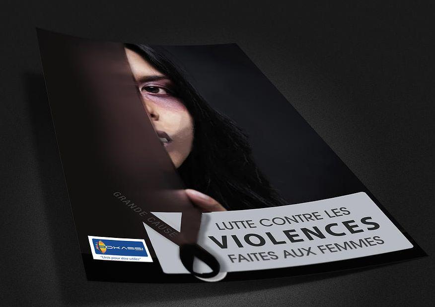 Affiche lutte contre les violences