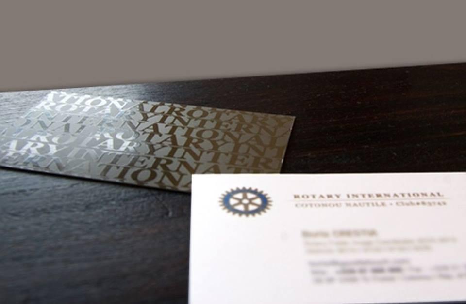 Carton d'invitation Rotary