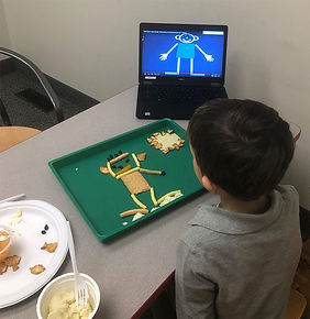 Feeding therapy at Boston Ability Center
