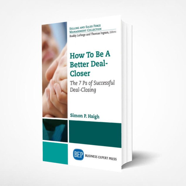 How to be a Better Deal-Closer