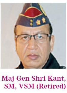 Maj Gen Shri kant