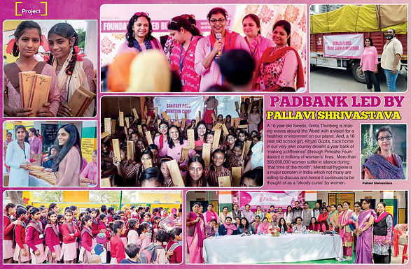 PADBANK LED BY PALLAVI SHRIVASTAVA