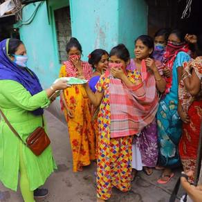 Kolkata | 24 June, 2020 | Sanitary Pad Distribution Camp | Menstruation Support | Period Talk
