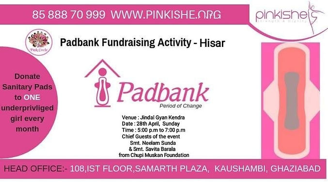 PADBANK FUNDRAISING ACTIVITY