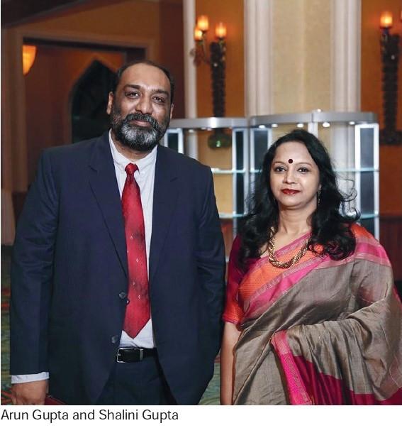 Arun Gupta & Shalini Gupta