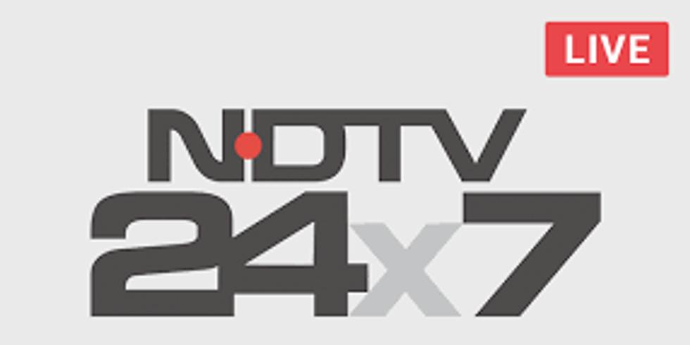 TALK SHOW ON NDTV 24*7