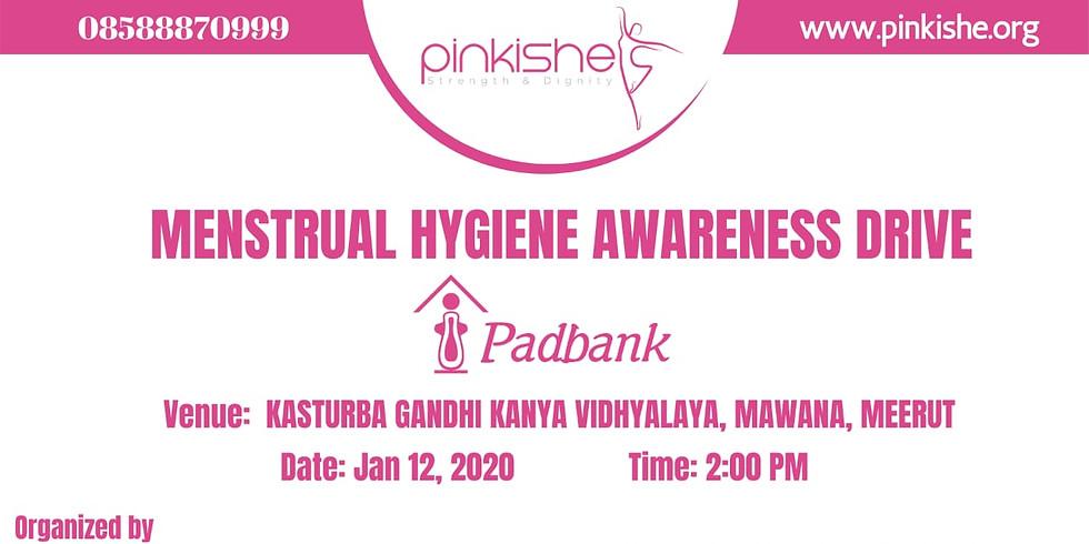 Menstrual Hygiene Awareness Drive