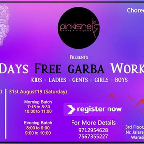 Free Garba Workshop