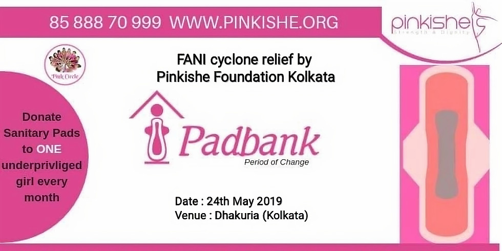 FANI cyclone relief by Pinkishe Foundation Kolkata