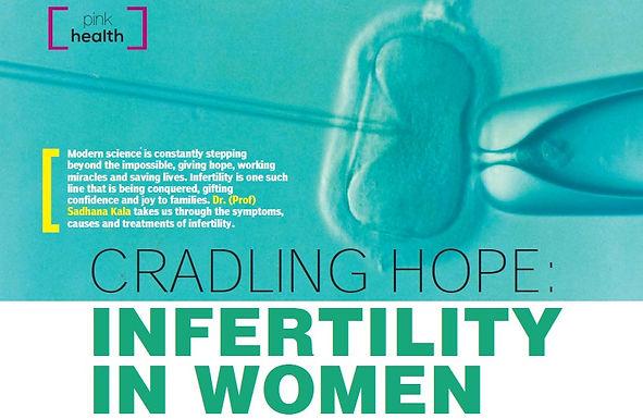 CRADLING HOPE: INFERTILITY IN WOMEN