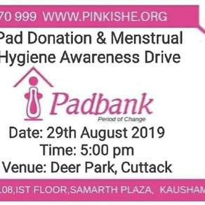 Pad Donation & Menstrual Hygiene Awareness Drive
