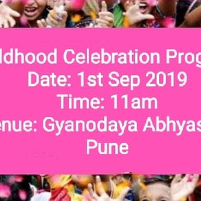 Childhood Celebration Program