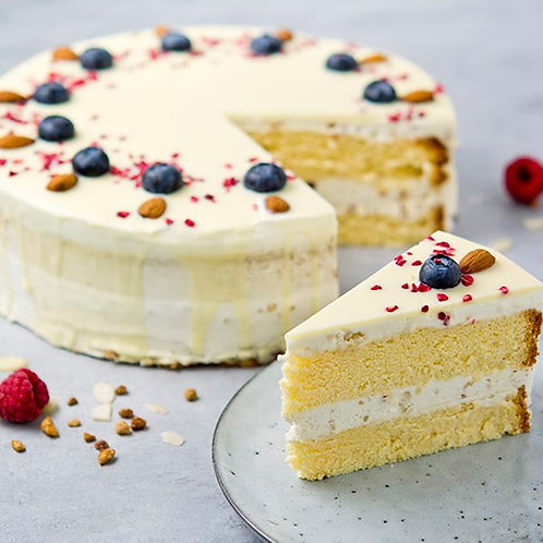 Almond Cake, polovica torty (6 ks, 700 g)