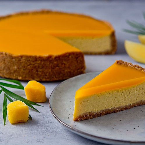Mango Cheesecake, polovica torty (6 ks, 660 g)