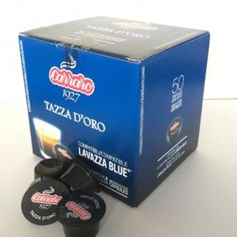 Tazza d´Oro - Lavazza blue kapsule, 50ks