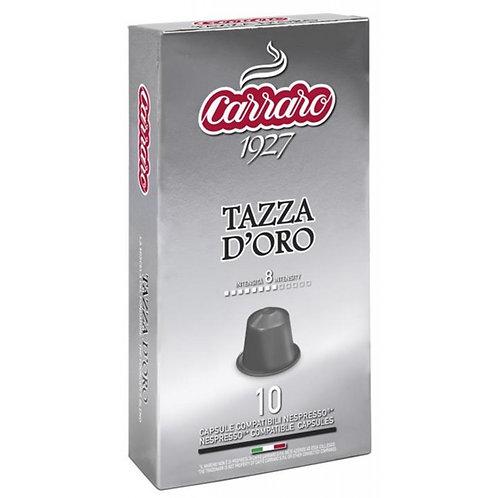 Tazza d´Oro - nespresso kapsula, 10ks