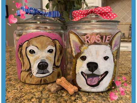 Sip and Paint PAWty at Pet's Best Friend - August 16th and 17th!
