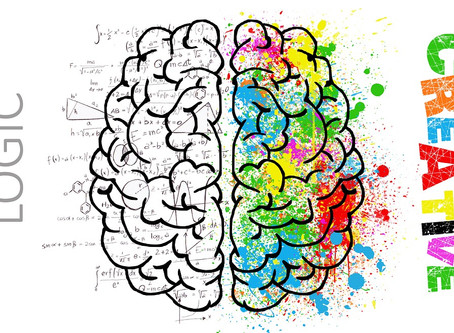Connecting the Right and Left Brain:  Rebecca's Ramblings