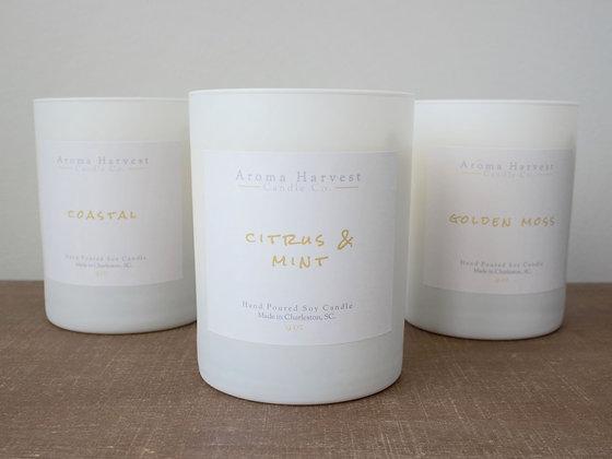 9 oz Soy Candle Set- Pick 3