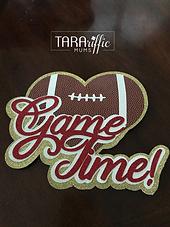 Custom Game Time cutout #tarariffcmums #hoco #homecomingmum