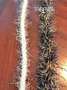 homecoming mum eyelash rope braid #tararifficmums #hoco #homecomingmum