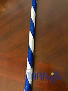Candy Cane Whip Braid #tararifficmums #hoco #hoco2018 #homecomingmum #homecomingbraid