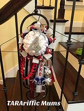 homecoming peewee football garter #tararifficmums #homecominggarter