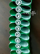 Candy Ribbon Braid #tararifficmums #hoco #homecomingmum #homecomingbraid