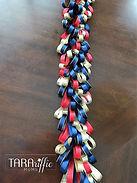 homecoming mum loopy braid #tararifficmums #hoco #homecomingmum