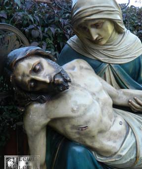Pieta Statue Restored