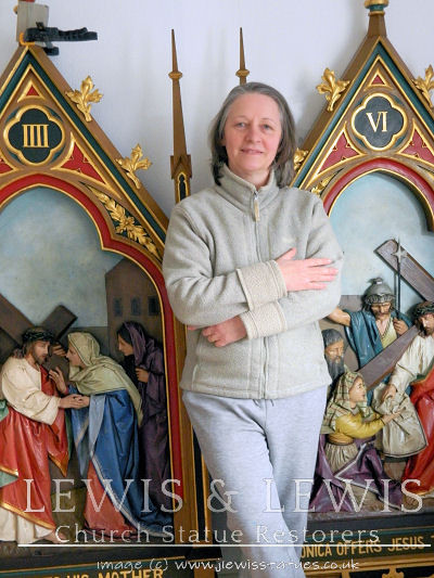 Gothic-stations-of-the-cross-restored-Lewis+Lewis