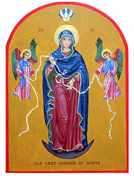 Icon-Our-Lady-Undoer- of-Knots-artist-J.