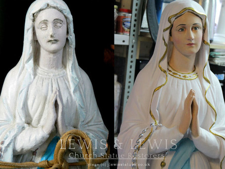 Restoration of Our Lady's Shrine
