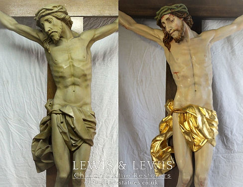 Polychromed-gilded-crucifix-lewis-and-le