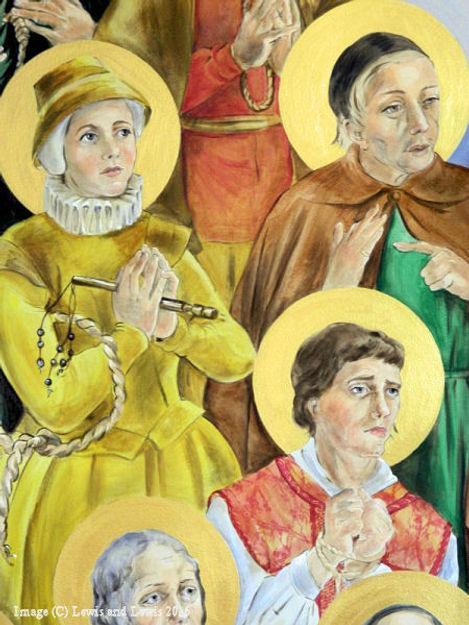 Saints Margaret-Ward-Edmund-Arrowsmith-