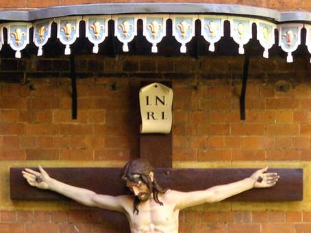 Birmingham Oratory Crucifix Restoration