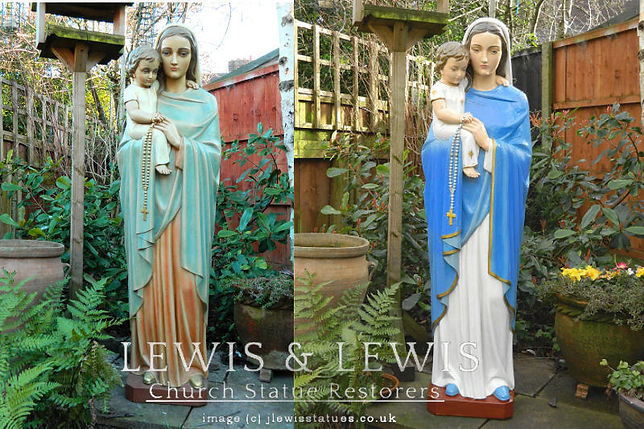 Holy-rosary-school-prayer-garden-statue1