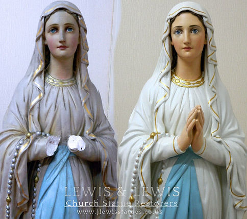 Our-Lady-of-Lourdes-before&after-restora