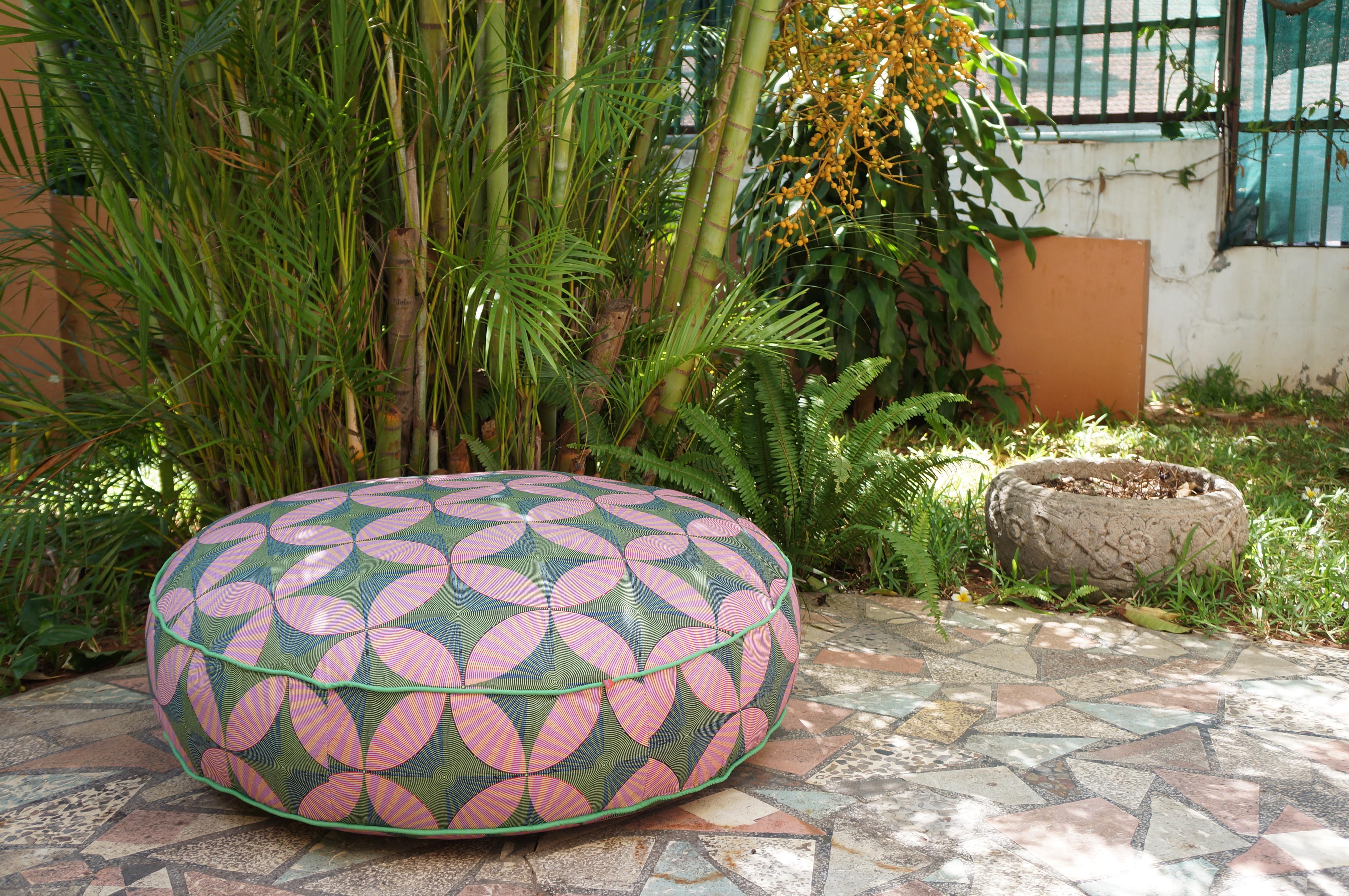 round pouf (100x30)