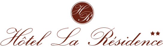 Logo hotel la résidence