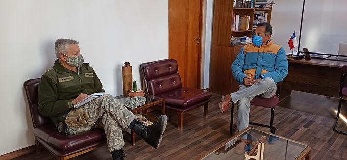 Alcalde solicita cuarentena para todos los poblados, al jefe de la Defensa Nacional
