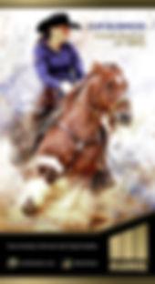 WEBSIZEbanner - vertical cow horse Erin.
