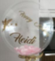 personalise confetti balloons