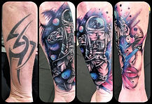 cover up tattoos, colour tattoos, spacem