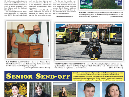 The September 15, 2020 edition of the InterTown Record is now available online!